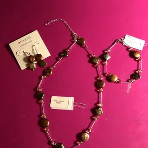 Jewelry - Necklace/Bracelet/Earrings Sterling & FW Pearls